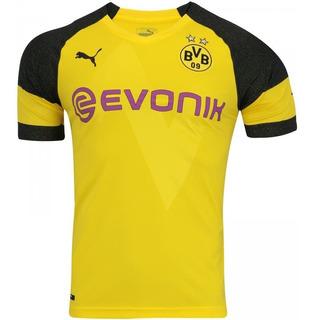 Camisa+calção Time Borussia Dortmund/puma 2018/2019