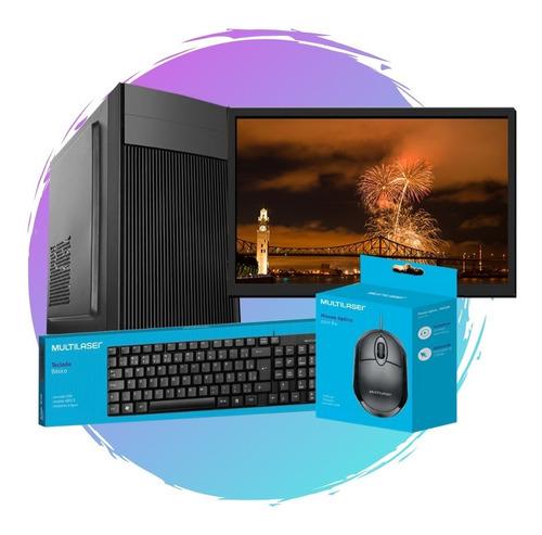 Pc Completo 24 Intel Core I5, 8gb Ram, Hd 500gb + Ssd 120gb