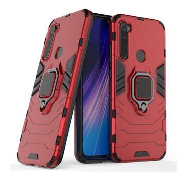 Protector Xiaomi Redmi Note 8 Con Anillo Color Rojo