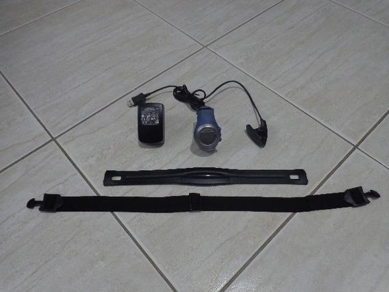 Relogio Garmin 405 Cx Forerunner +cinta + Carregador + Cabo