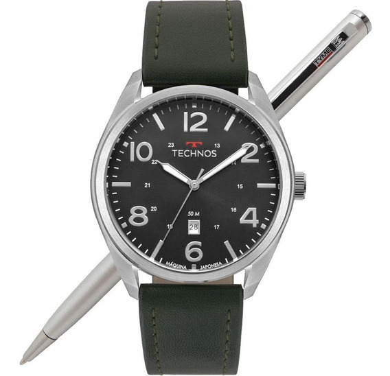 Relógio Technos Masculino Performance Military 2115msz/0p Nf