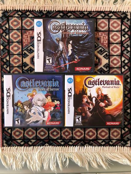 Castlevania Coleção Nintendo Ds / 3ds - Americano E Original