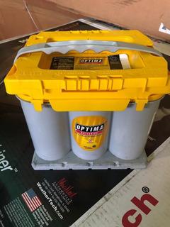 Bateria Optima De Gel Amarillas Y Rojas