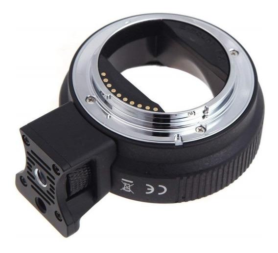 Anel Adaptador Auto Foco Lente Canon - Corpo Sony Nex