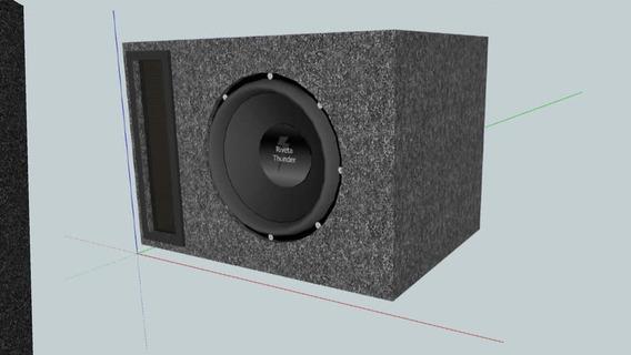 Projeto Sub Jp Audio Sw 400 8