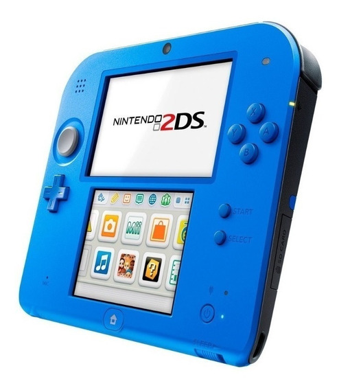 Nintendo 2ds Edição Mario Kart 7 Azul