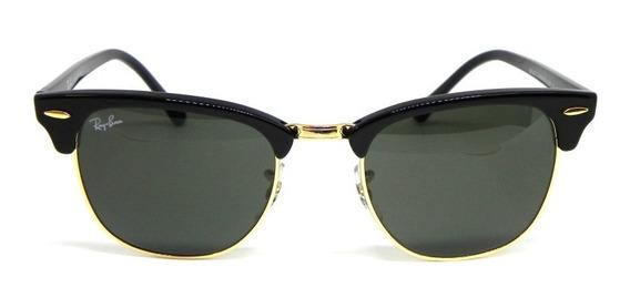 Oculos De Sol Clubmaster Ray Ban Rb 3016l W0365 51