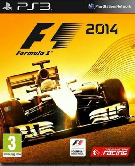 F1 2014 - Fórmula 1 2014 Ps3 Comprar Jogo Playstation 3