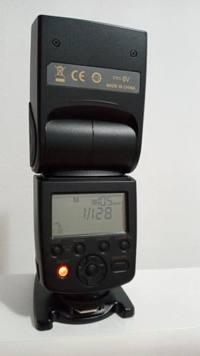Flash Speedlite Yongnuo Yn-568ex Para NikonMuito Novo