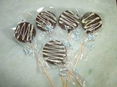 Pirulito De Chocolate Pacote Com 12 Unidades 20,00 Reais