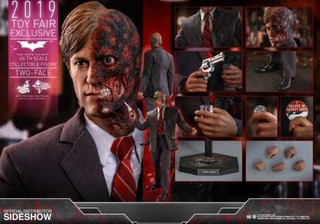 Hot Toys Two Face Dos Caras Harvey Dent Nuevo Fpx