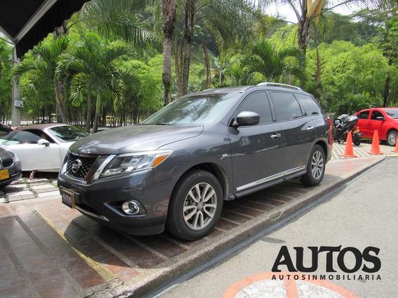 Nissan Pathfinder Advance 7p Aut Sec Cc 3500 4x4