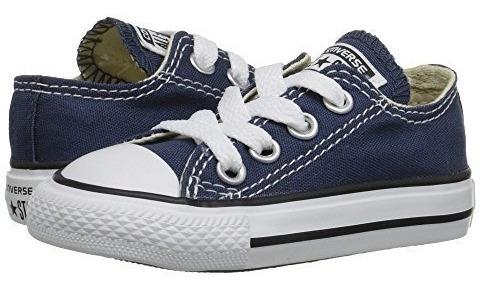 Converse Kids Chuck Taylor Core Ox Navy Tenis Bebe Niña Niño