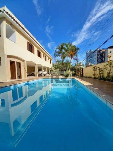 Casa Com 4 Dormitórios À Venda, Por R$ 1.100.000 - Parque Enseada - Guarujá/sp - Ca0809