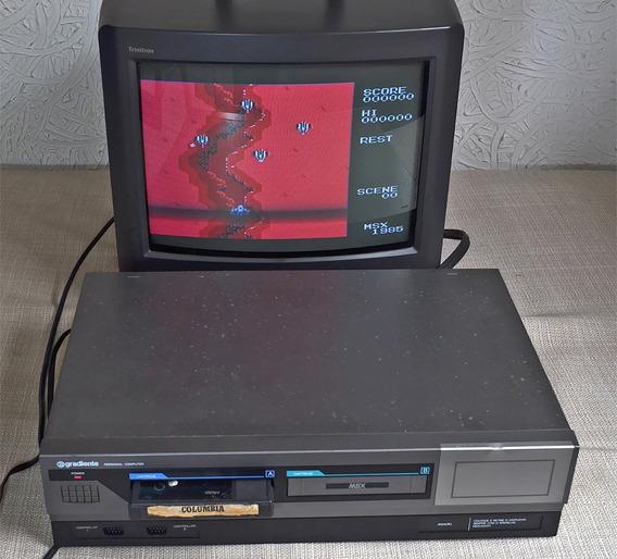 Computador Msx Gradiente Expert E Jogo Columbia Sky Jaguar