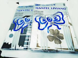 Mantel Liviano 1.40x1.40m X2 Unidades .