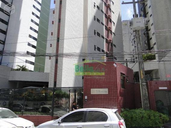 Apartamento Com 3 Dormitórios Para Alugar, 86 M² Por R$ 1.700+ Taxas Mês - Boa Viagem - Recife/pe - Ap1267