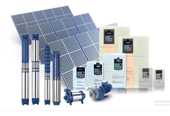 Paquete Kit Bomba Solar Sumergible De 2 Hp