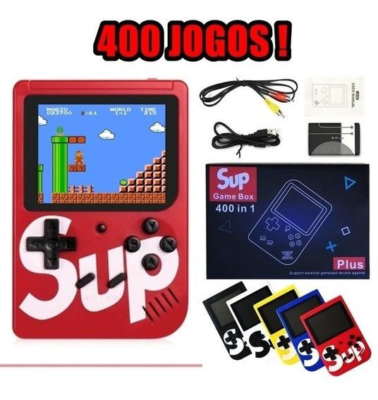 Mini Video Game Retro Game Boy 400 Jogos Retro Nintendo 8bit