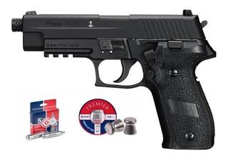 Sig Sauer P226 Blowback Co2 Diabolos .177 Envio Gratis Kit