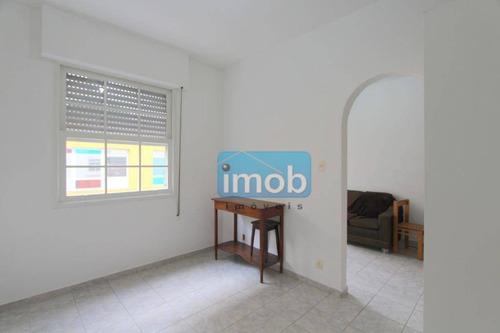 Imagem 1 de 20 de Apartamento Com 1 Dormitório À Venda, 29 M² Por R$ 280.000,00 - Embaré - Santos/sp - Ap6942