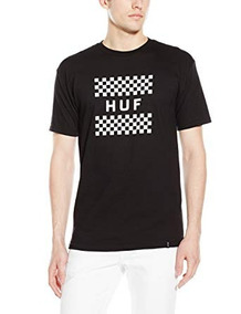 Playera Huf - Checkerboard