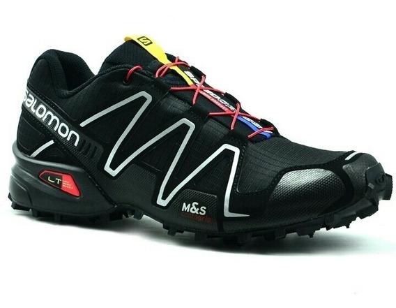 Zapatillas Salomón Speedcross 3 Hombre Negro 127609 Eur46