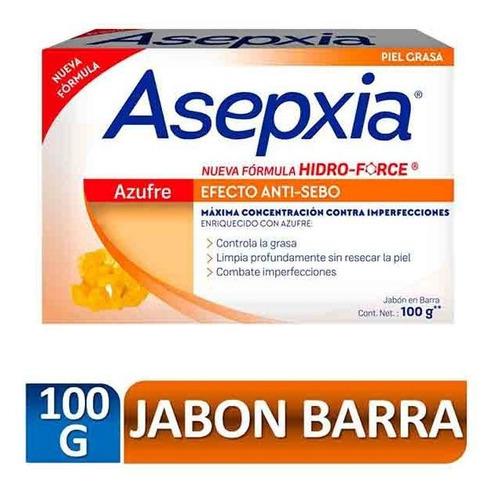 Asepxia Jabon Azufre