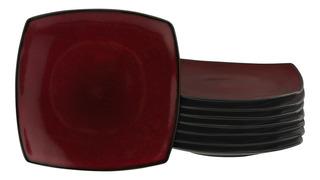 Gibson Home Soho Lounge Plates - Set De 8