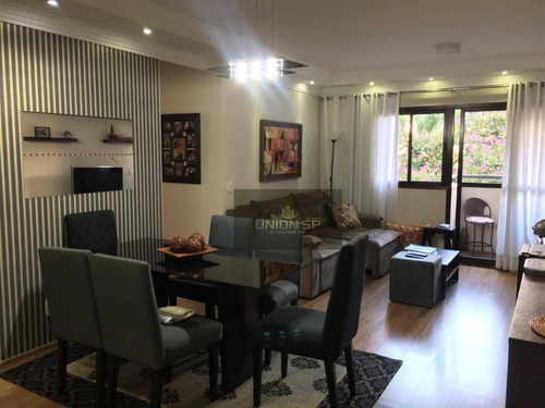 Apartamento Com 3 Dormitórios À Venda, 69 M² Por R$ 500.000,00 - Santo Amaro - São Paulo/sp - Ap38796