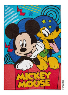 Frazada Microfibra Mickey Frazada Flannel Mickey Piñata