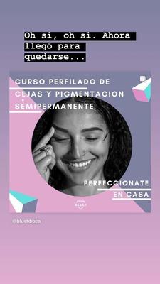 Curso Online Perfilado De Cejas Y Tintado Semipermanente