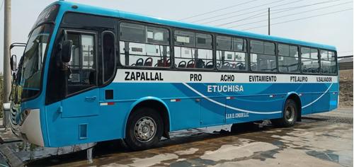 Bus Urbano Iveco Operativo Trabajando Con Ruta