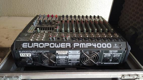 Mesa De Som Amplificada Behringer Europower Pmp 4000