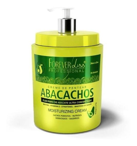Creme De Pentear Para Cacheadas Abacachos 950g Forever Liss