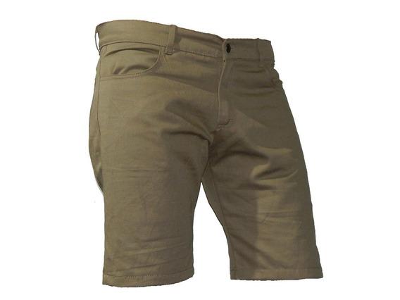 Bermudas Shorts Gabardina Hasta Talle 56- Jeans710