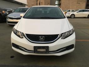 Honda Civic 4p Lx L4 1.8 Aut