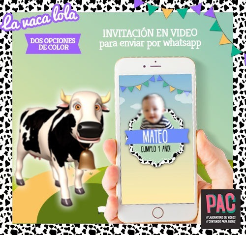 Zenon De En Vaca Invitación Lola Video La Whatsapp Granja 8vNnm0w