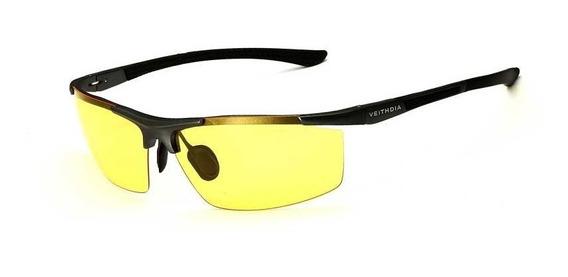 Óculos P/ Dirigir A Noite Noturno Amarelo Polarizado Uv400