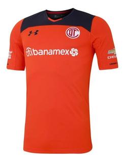 Jersey Under Armour Futbol Toluca Portero Local Pro 17/18 Na