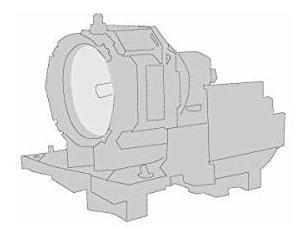 Sparc - Lámpara De Repuesto Para Proyector Marantz Vp-12s