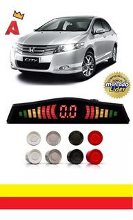 Sensor De Estacionamento 4 Pontos Honda City Modelo Original