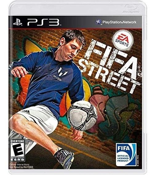 Jogo Ps3 Fifa Street # Playstation3 Original & Oficial Usado