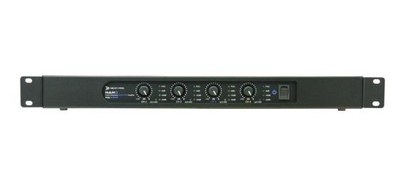 Amplificador De Potência 4 Canais Nano Na 4350 - Next Pro