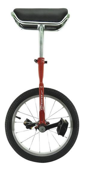 Monociclo Mirim Aro 16 Altmayer Al-121 Aço Carbono Vermelho