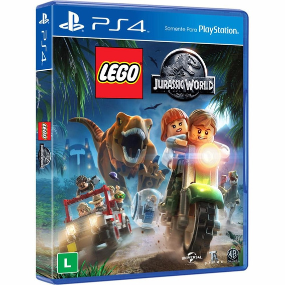 Jogo Lego Jurassic World - Playstation 4 - Ps4 Mídia Física