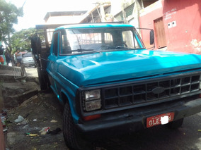 Ford F4000 78 Azul Madeira