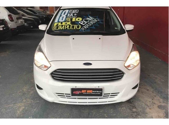 Ford Ka+ Sedan Se 1.0 2018 (flex) (branco)
