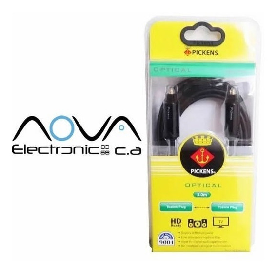 Cable Audio Optico Digital 3 Mts Playstation Home Theater