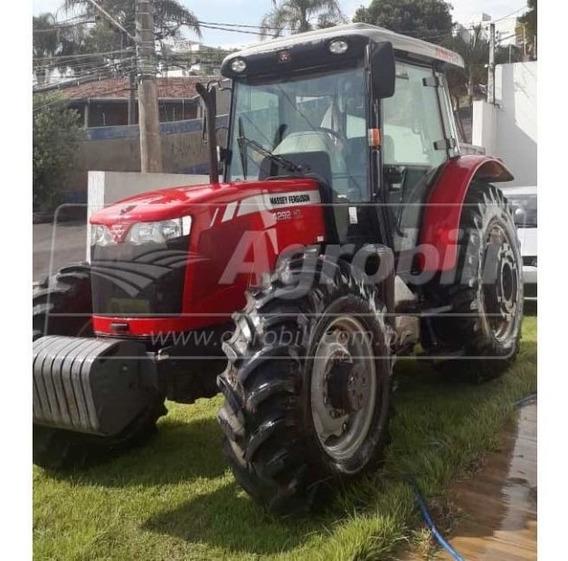 Trator Massey 4292 Hd Ano 2016 Com 940 Horas Cabinado Orig.